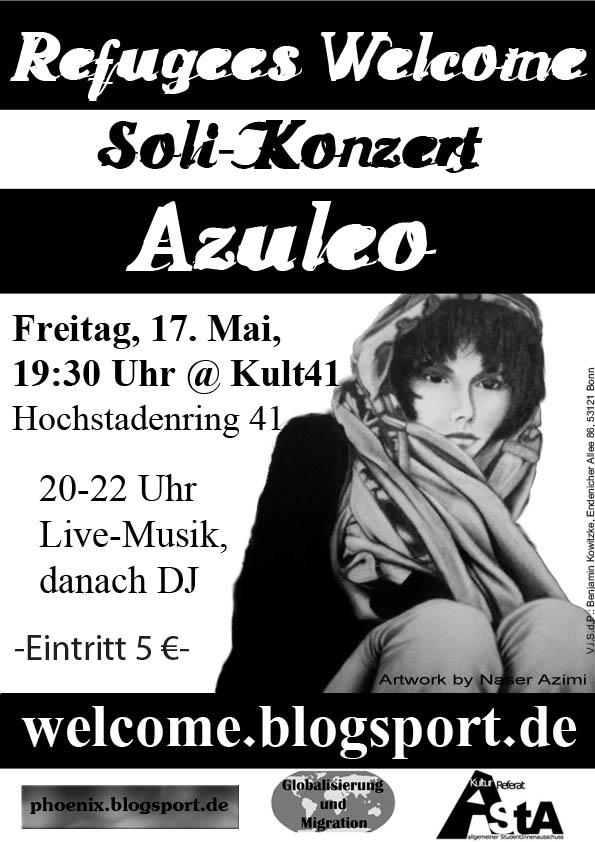 Plakat Azuleo-Konzert 17. Mai 2013
