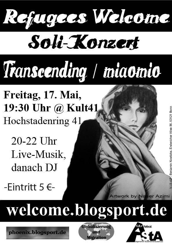 Plakat Konzert Mai 2013