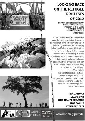Plakat 30. Januar 2013